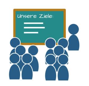 Unsere Lernziele – Zielstruktur im Unterricht